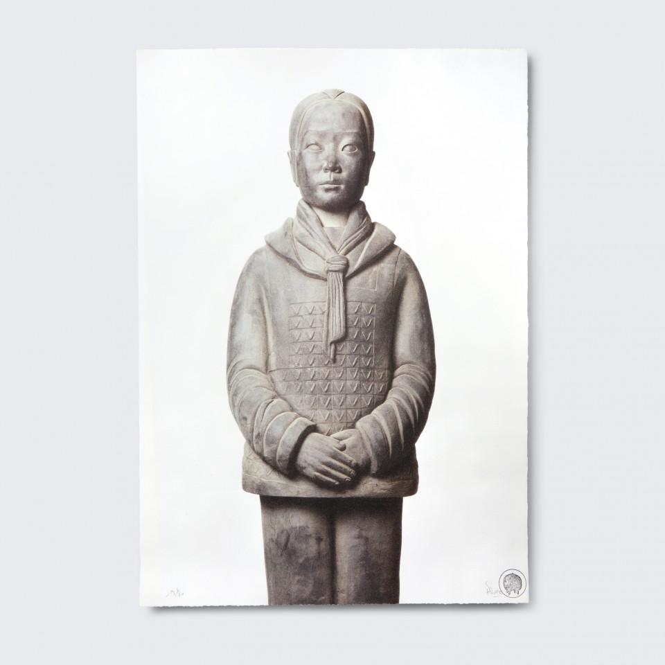 Terracotta Daughter 4,  Yindi - Lithograph