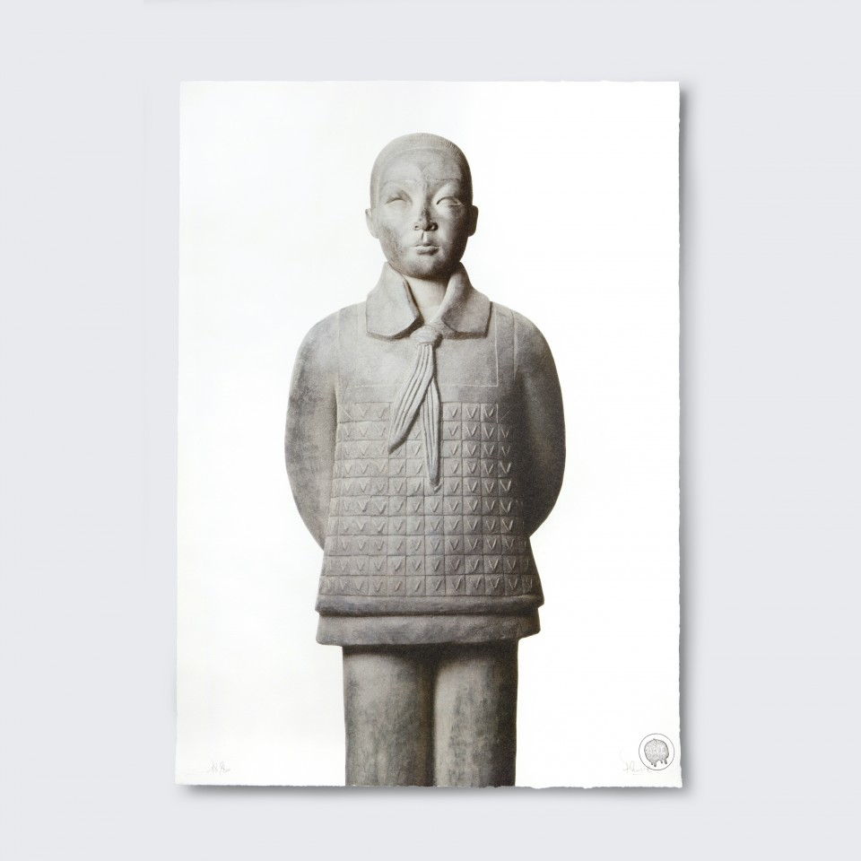 Terracotta Daughter 8,  Jianwei - Lithograph